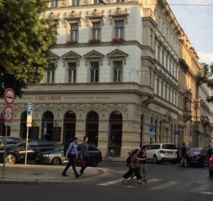 Exterior Cafe Savoy Prague Czech